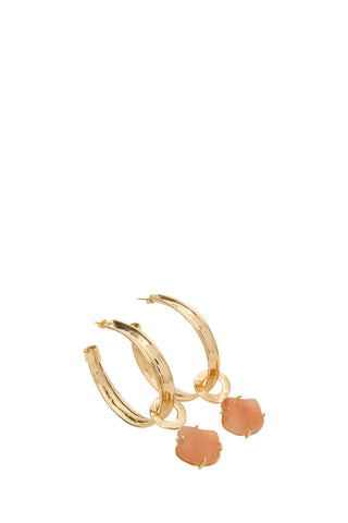 Alberta Ferretti Stone Drop Earrings
