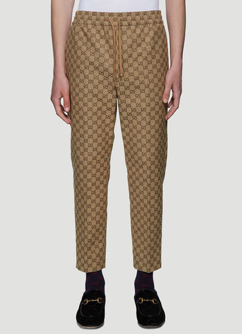Gucci Allover GG Logo Track Pants