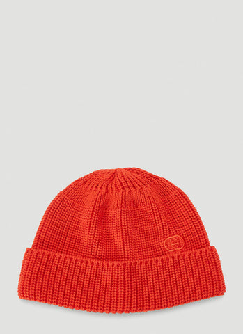 Gucci Embroidered Logo Beanie Hat