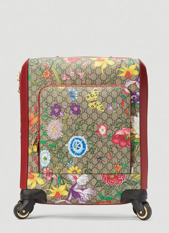 Gucci GG Flora Carry-On Trolley