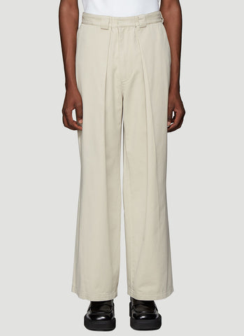 JW Anderson Pleated Front Chino Pants