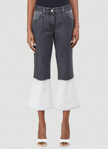 JW Anderson Flared Denim Jeans