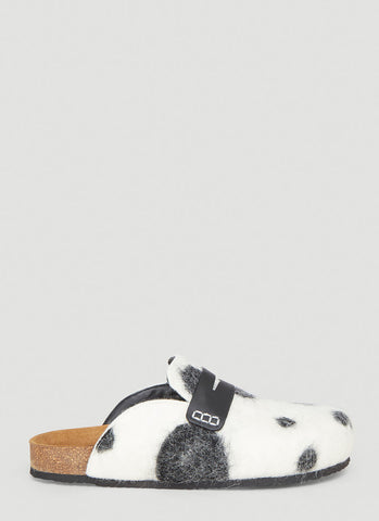 JW Anderson Dalmation Loafer Mules