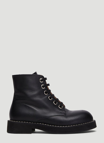 Marni Lace Up Boots