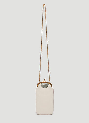 Marni Kiss Lock Mini Crossbody Bag