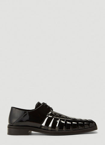 Martine Rose Tyrone Cut Out Derby Shoes