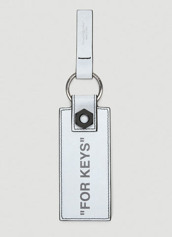 Off-White Quote Printed Key-Chain