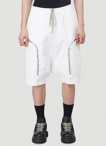 Rick Owens Zipped Pocket Shorts
