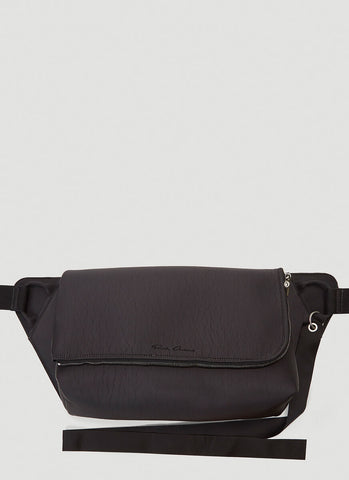 Rick Owens Cracked Effect Bum Bag