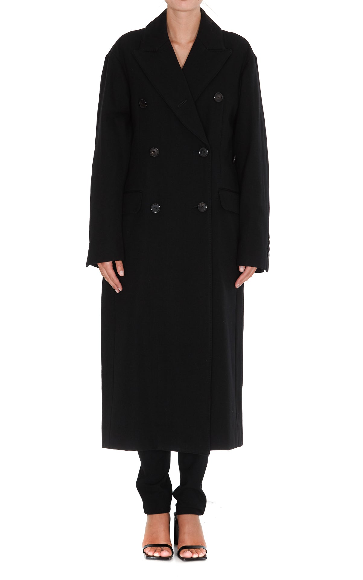 Ann Demeulemeester ANN DEMEULEMEESTER DOUBLE BREASTED COAT