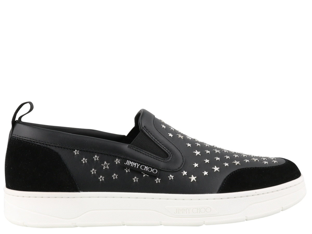 JIMMY CHOO JIMMY CHOO HAWAII STAR SLIP ON SNEAKERS