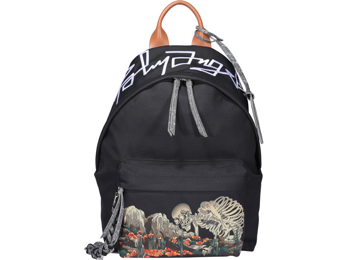 Palm Angels PALM ANGELS DESERT SKULL PRINT BACKPACK