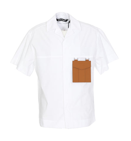 Palm Angels Sacred Heart Pocket Detail Shirt