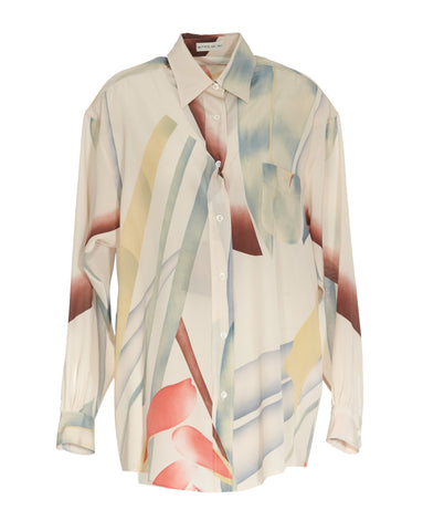 Etro Printed Oversized Shirt