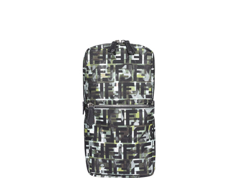 Fendi Monogram Graphic Printed One-Shoulder Backpack