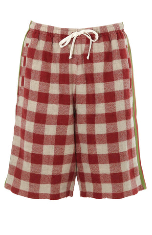 Gucci Oversize Check Shorts