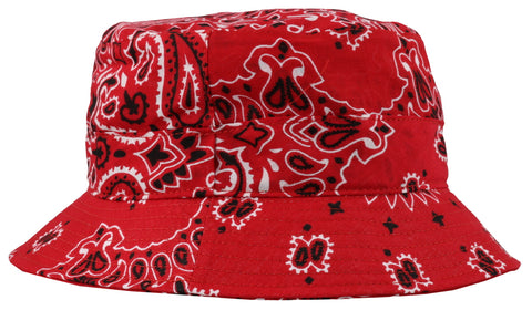 In The Box Bandana Print Hat