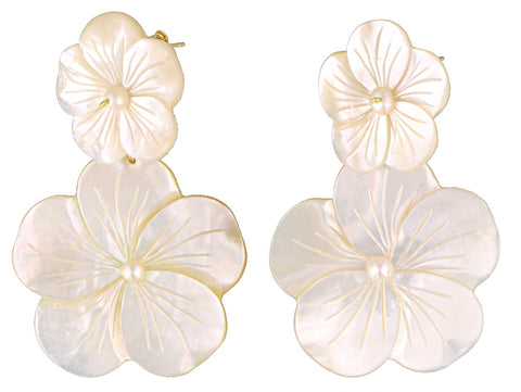 Katerina Psoma Floral Earrings