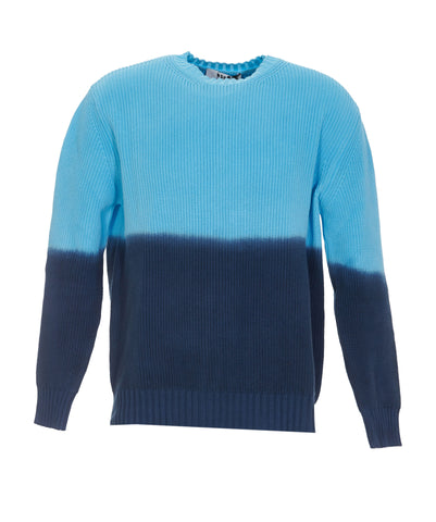 MSGM Gradient Effect Knitted Sweater