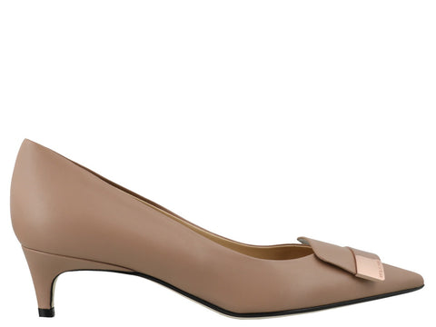 Sergio Rossi SR1 Pointed Toe Pumps