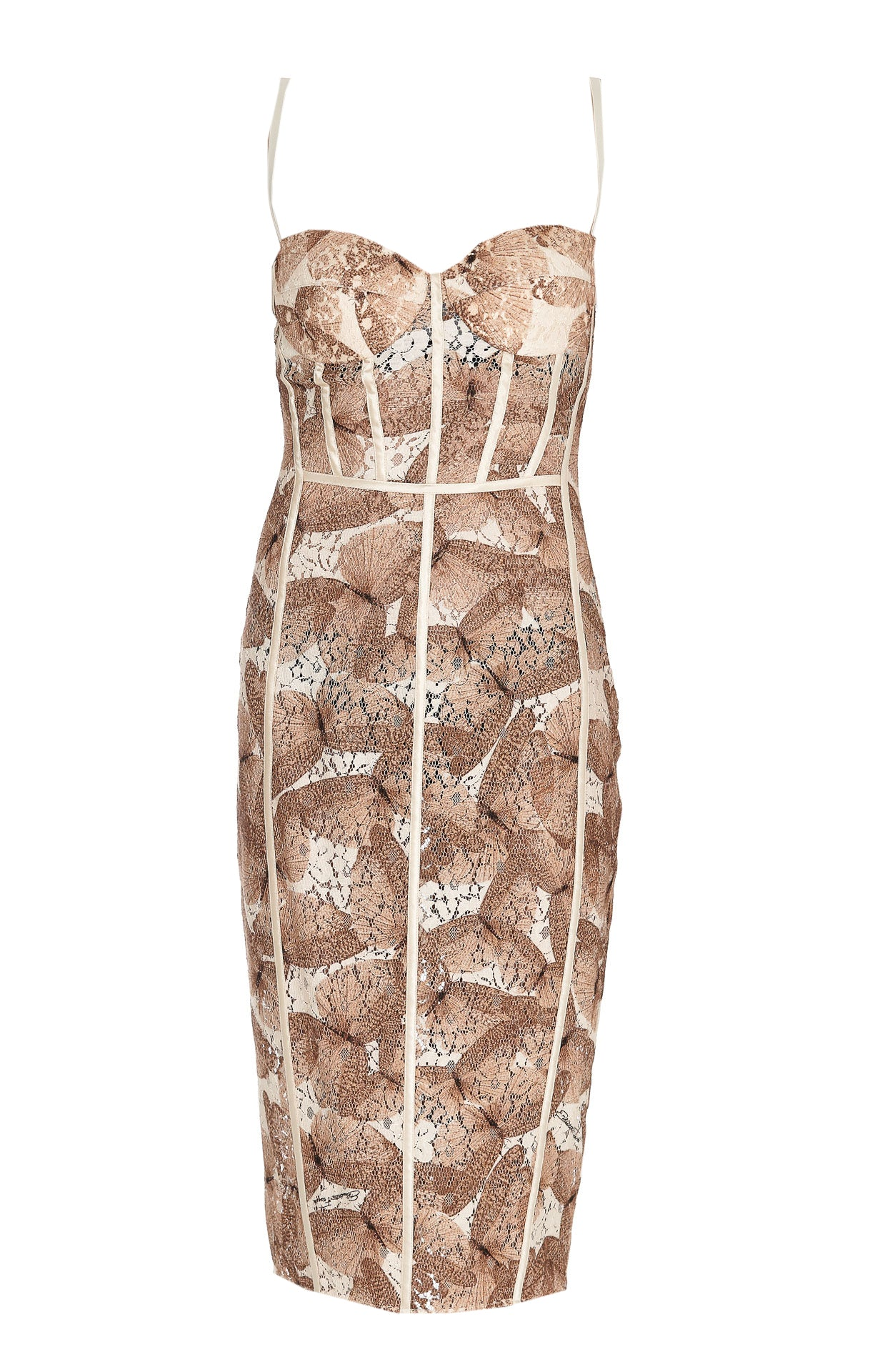 Elisabetta Franchi ELISABETTA FRANCHI BUTTERFLY PRINT PENCIL DRESS