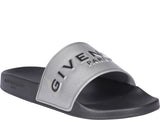 Givenchy Logo Embossed Sandals