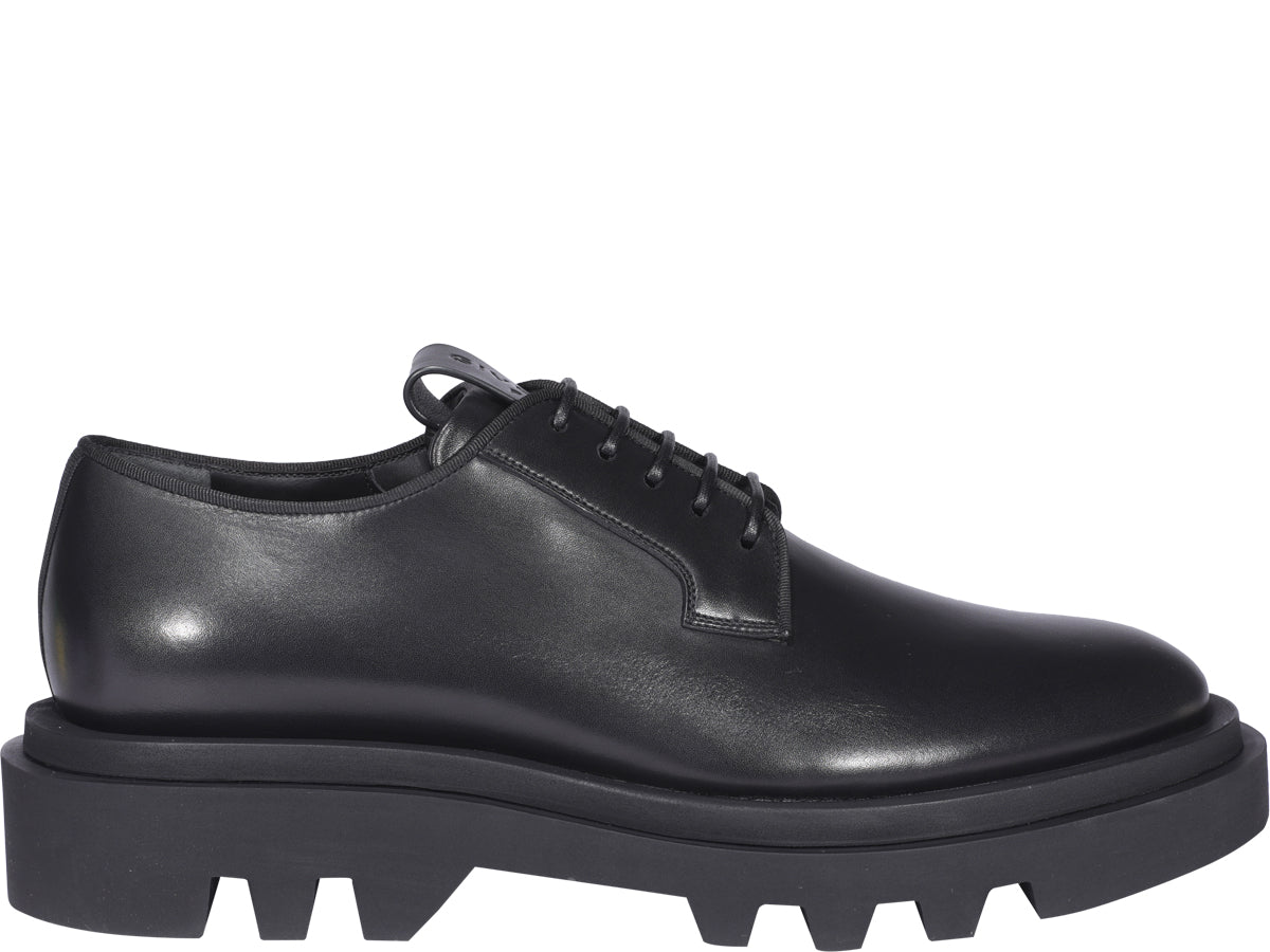Givenchy GIVENCHY COMBAT DERBY SHOES