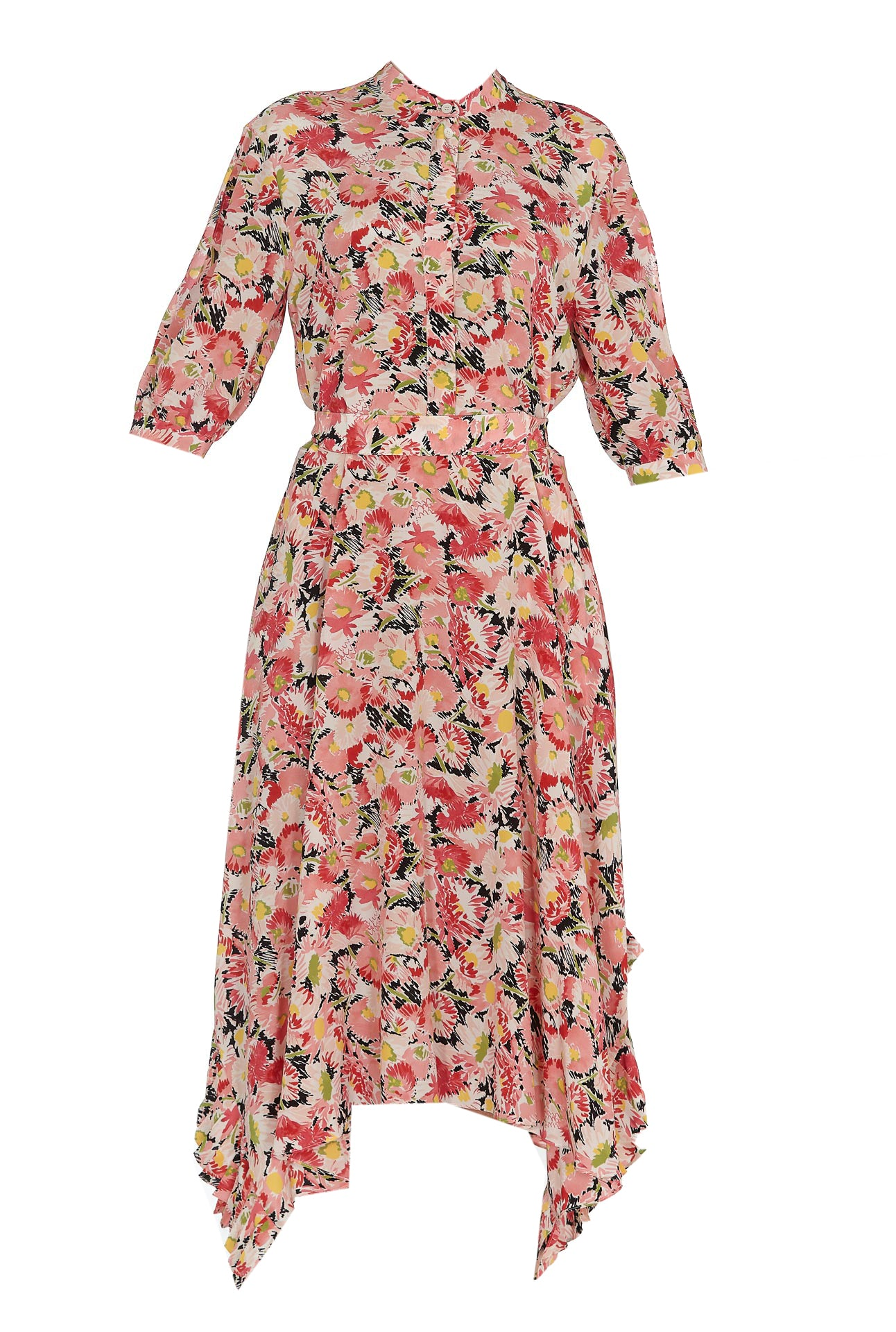 Stella Mccartney STELLA MCCARTNEY FLORAL PRINT MIDI DRESS