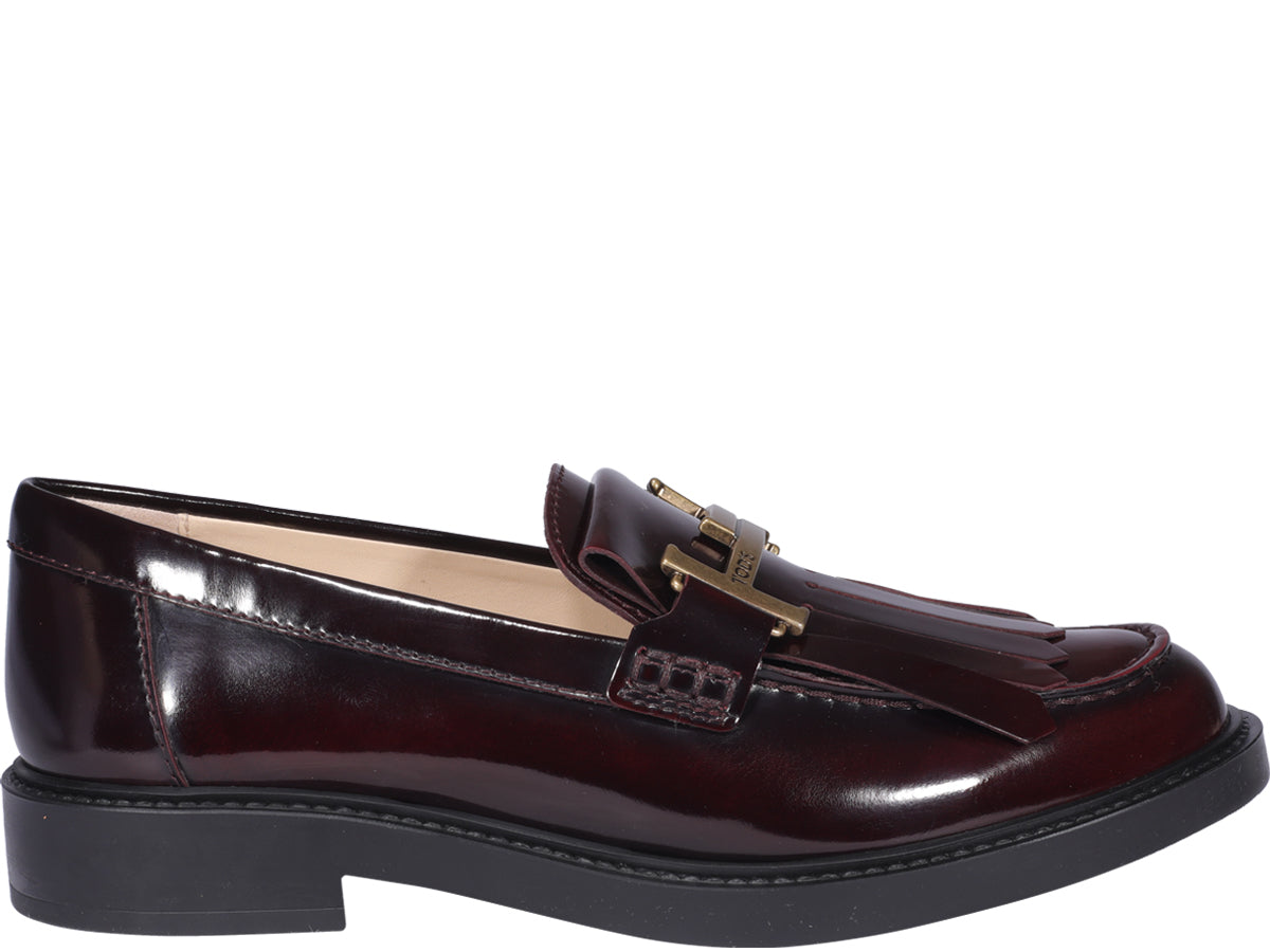 Tod's TOD'S DOUBLE T BUCKLED LOAFERS