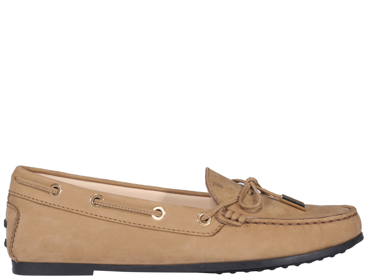 Tod's TOD'S CITY GOMMINO BOW DETAIL LOAFERS