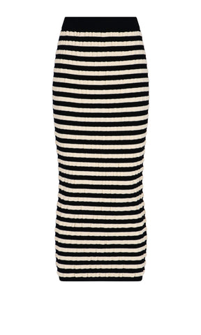 Marni Striped Midi Skirt