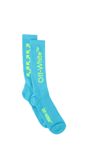Off-White Logo Embroidered Arrows Socks