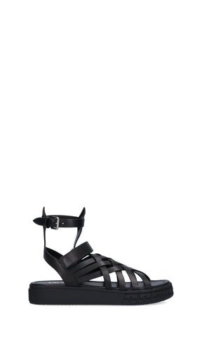 Prada Ankle Strapped Sandals