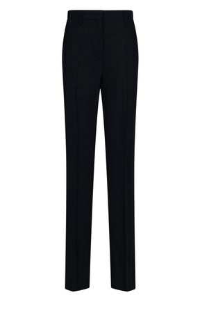 Prada High-Waisted Slim Trousers