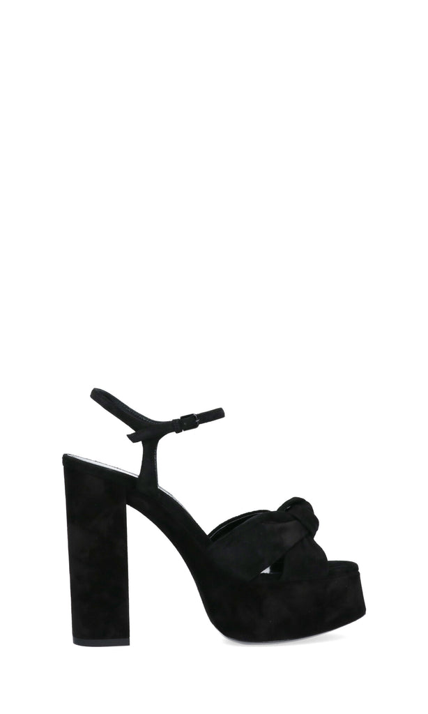 Saint Laurent Bianca Knot Detail Sandals