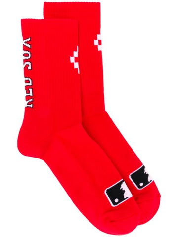 Marcelo Burlon County Of Milan Logo Socks