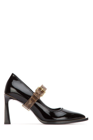 Fendi FF Logo Detail Buckle Strap Décolleté Pumps