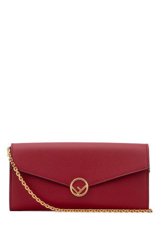 Fendi Envelope Chain Strap Clutch Bag
