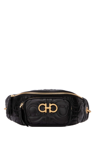 Salvatore Ferragamo Gancini Quilted Belt Bag