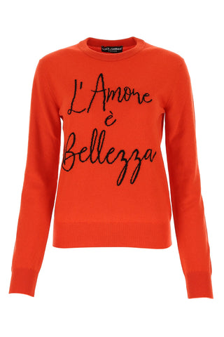 Dolce & Gabbana Crewneck Knitted Sweater