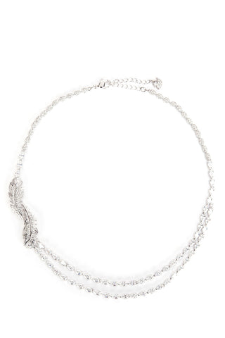 Swarovski Nice Feather Necklace
