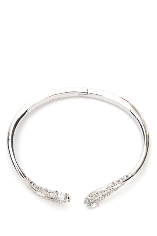 Swarovski Nice Feather Bangle Bracelet