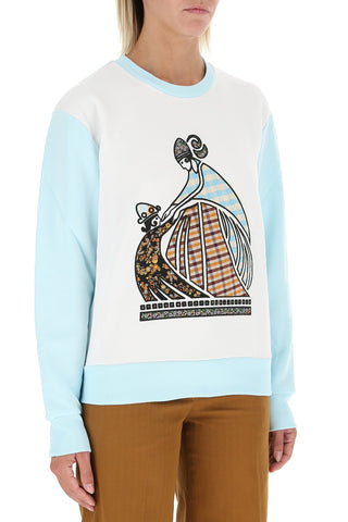 Lanvin Patchwork Artwork Sweatshirt