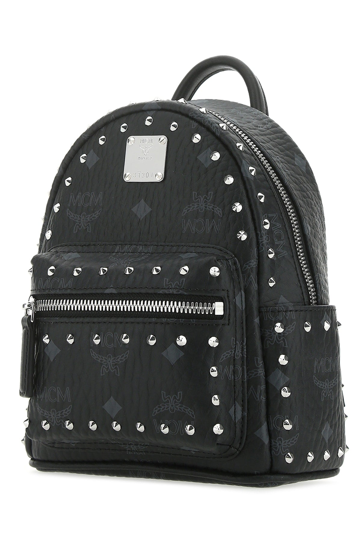 Mcm MCM VISETOS STUDDED BACKPACK