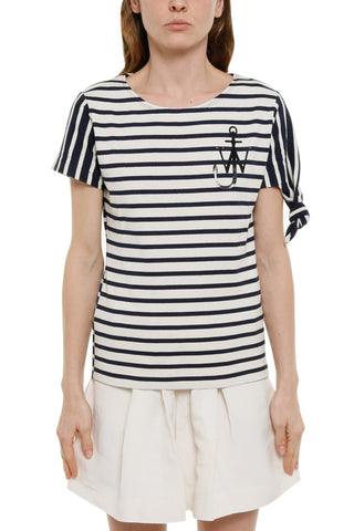 JW Anderson Striped T-Shirt