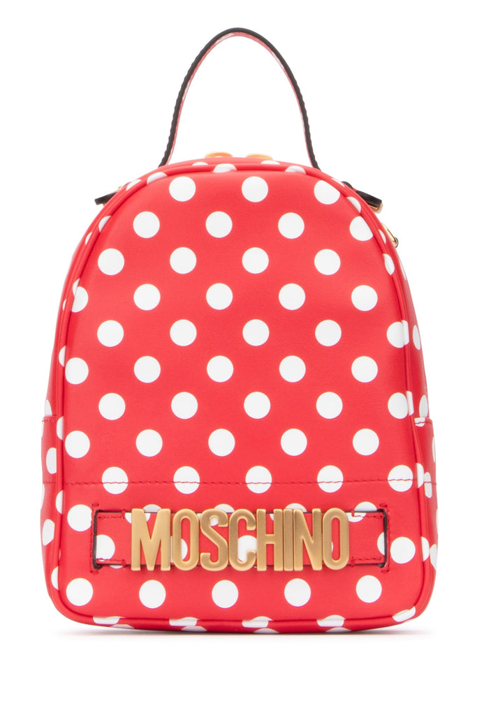 Moschino Polka Dot Backpack