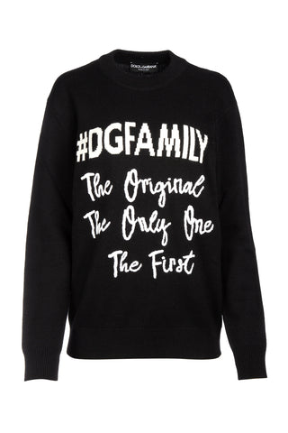 Dolce & Gabbana DG Family Knitted Sweater