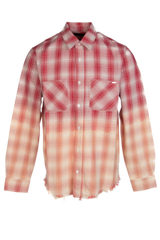 Amiri Checked Gradient Shirt