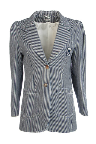 Miu Miu Striped Blazer