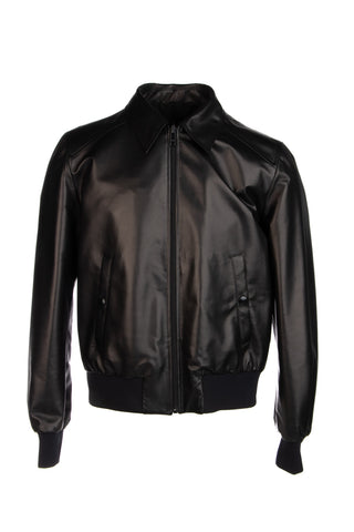 Prada Lambskin Collared Jacket
